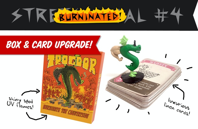 Trogdor!! The Board Game by Homestar Runner — Kickstarter