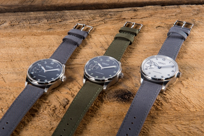 Field Straps on Field Watches