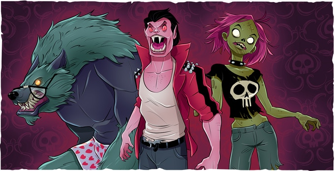 Werewolf, Vampire, or Zombie. Who will you choose?