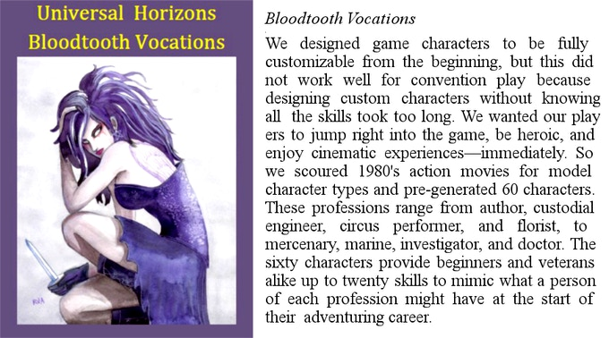 Bloodtooth Vocations
