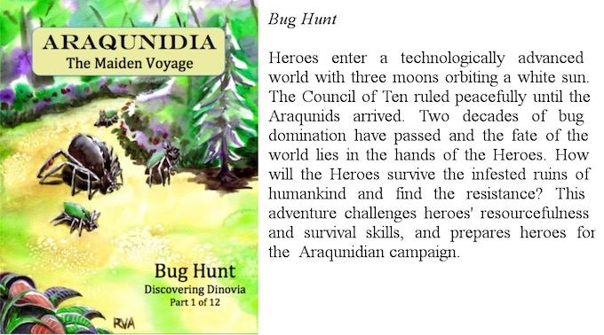 Bug Hunt, an Araqunidia Module