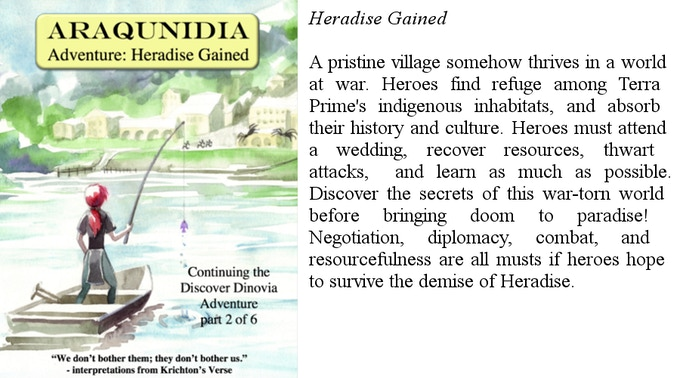 Heradise Gained, an Araqunidia Module