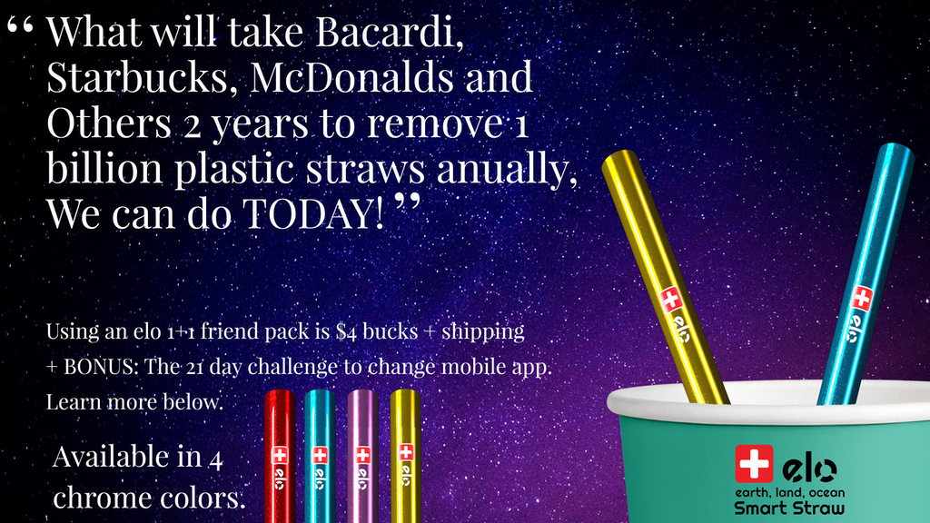 ELO is a smart straw alternative to plastic. A world's 1st! project video thumbnail