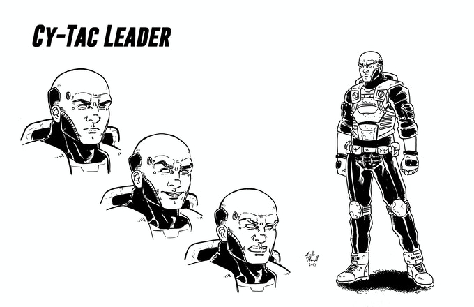 Leader Reward! Original Character Art by Jacob Newell