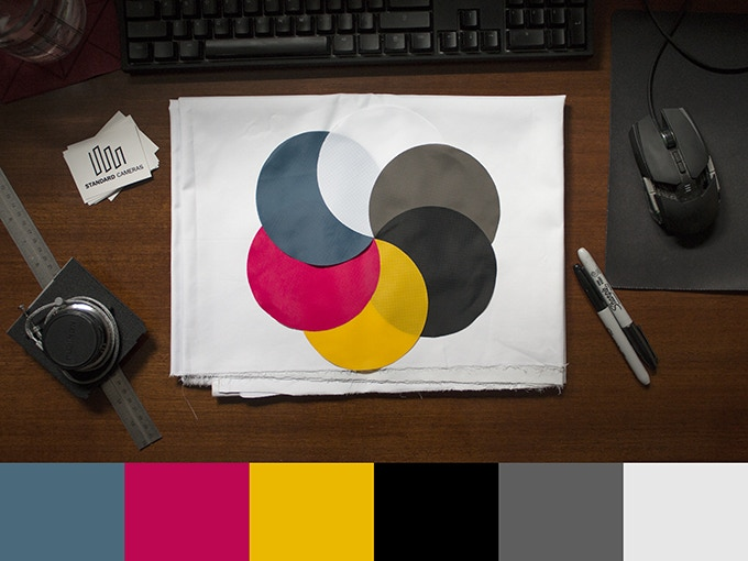 Available bellows colors are Dark Cyan, Magenta, Yellow, Black, Grey and White!