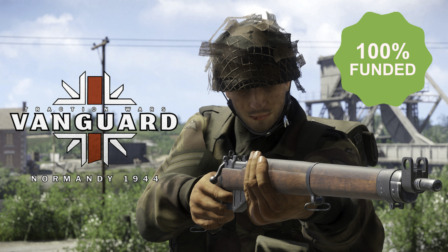 In Vanguard: Normandy 1944 players fight to survive in hardcore multiplayer combat for historic D-Day objectives on real battlefields. Now available on Steam Early Access.