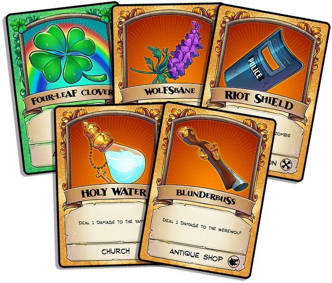 Press your luck to gather as many cards as possible