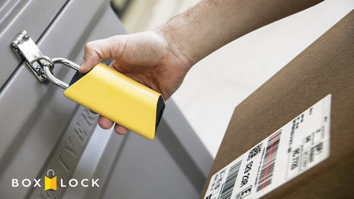BoxLock Home is the first smart padlock designed to protect your deliveries from porch pirates and package thieves. Our Kickstarter has ended and limited quantities of BoxLock Home are now available exclusively on Amazon for Prime Members.
