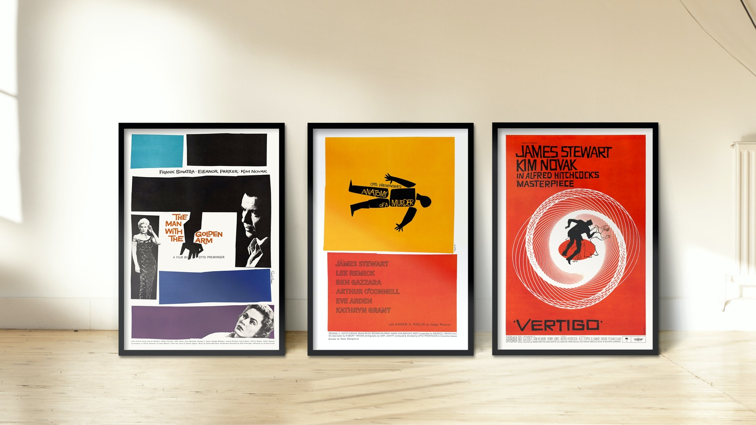 Retouched reprints of original scanned Film & Festival Posters from one of the most known Designers worldwide: SAUL BASS 1920-1996