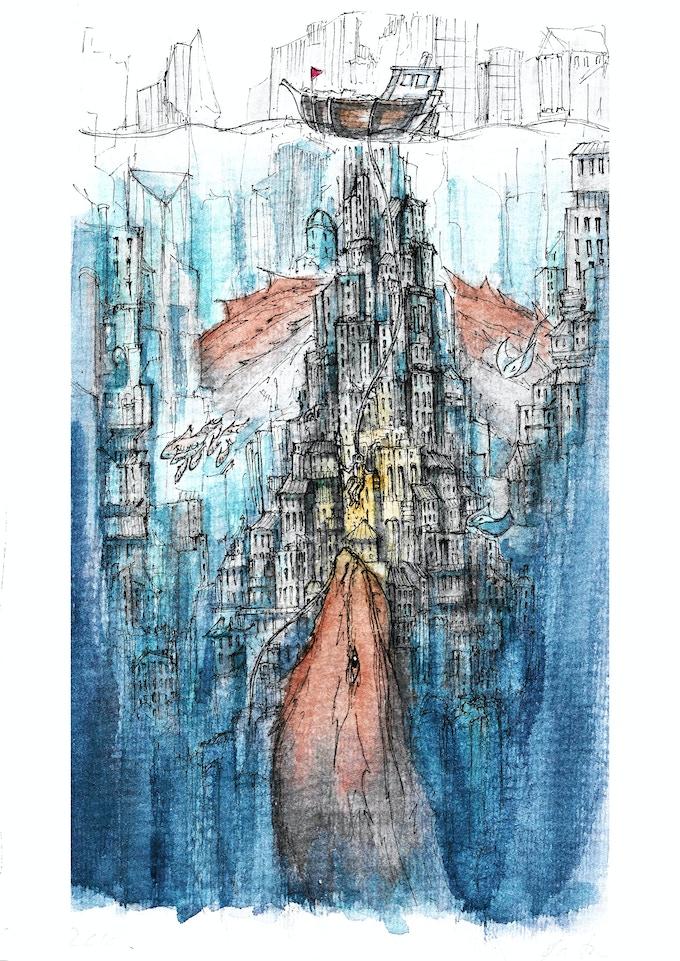 The Old World, Illustration
