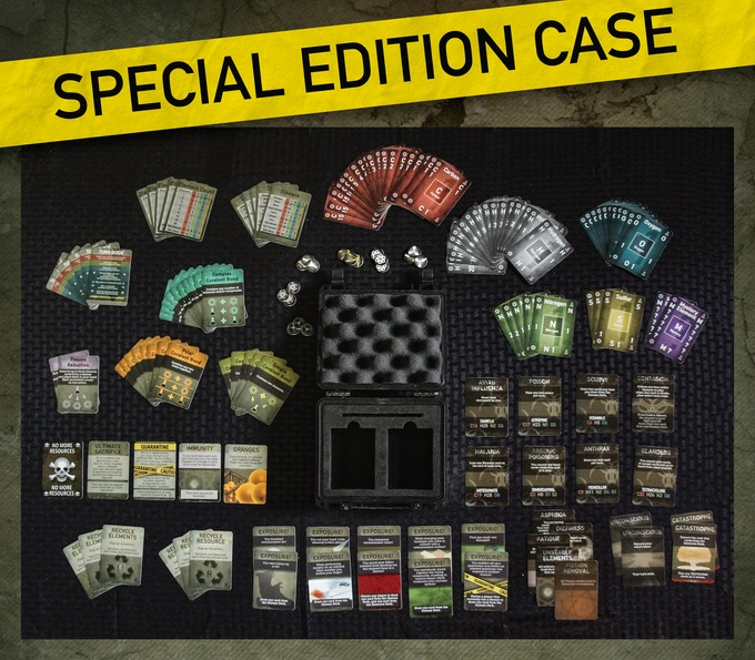 Special Edition Case Option (Cardboard box included as well)