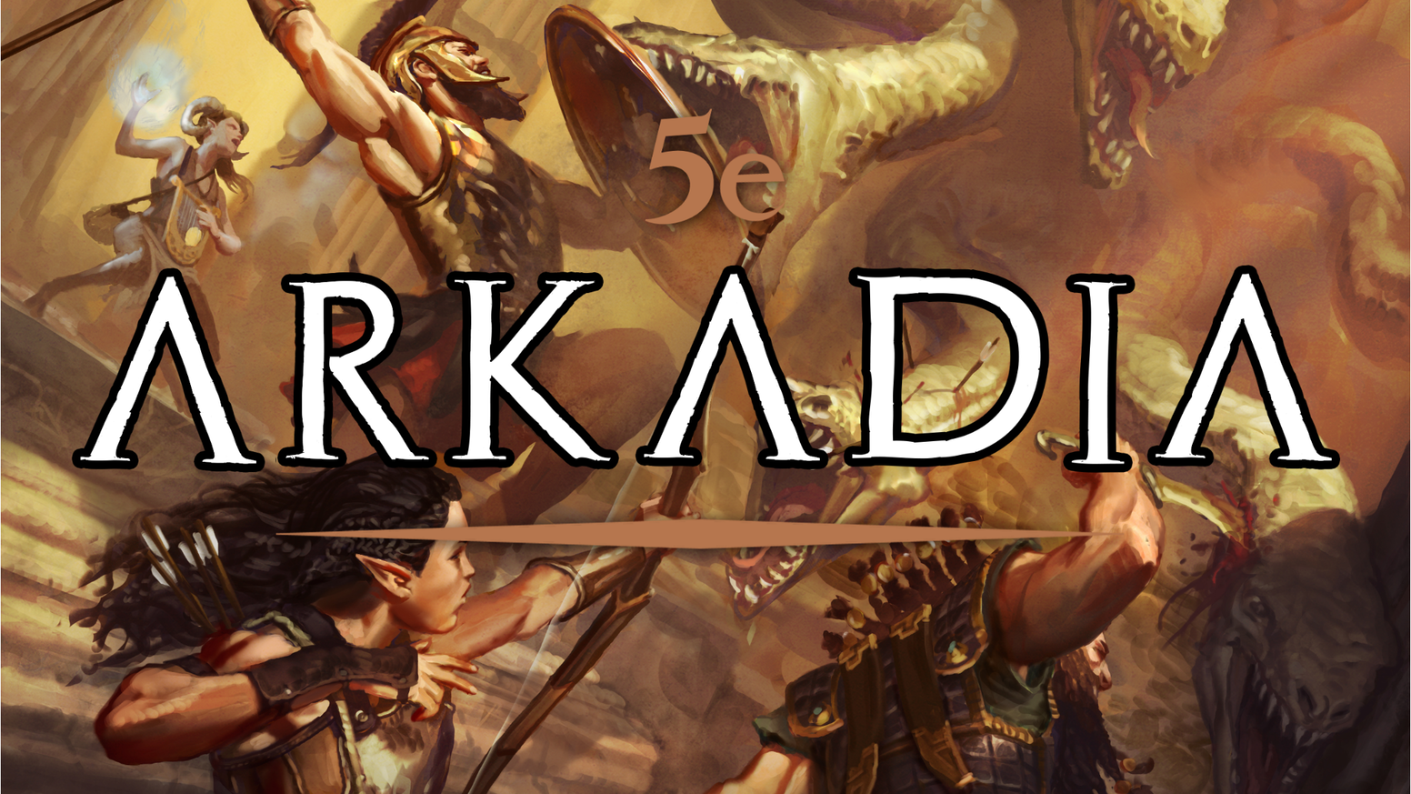 A new setting exclusively for 5e - inspired by the history and myths of Ancient Greece