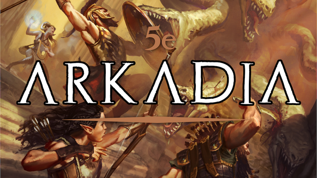 Arkadia: The Mythic Greek Setting for 5e project video thumbnail