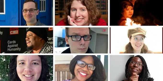 Uncanny Magazine Staff: Michael Damian Thomas; Lynne M. Thomas; Michi Trota; Matt Peters; Steven Schapansky; Erika Ensign; Caroline M. Yoachim; Stephanie Malia Morris; Chimedum Ohaegbu