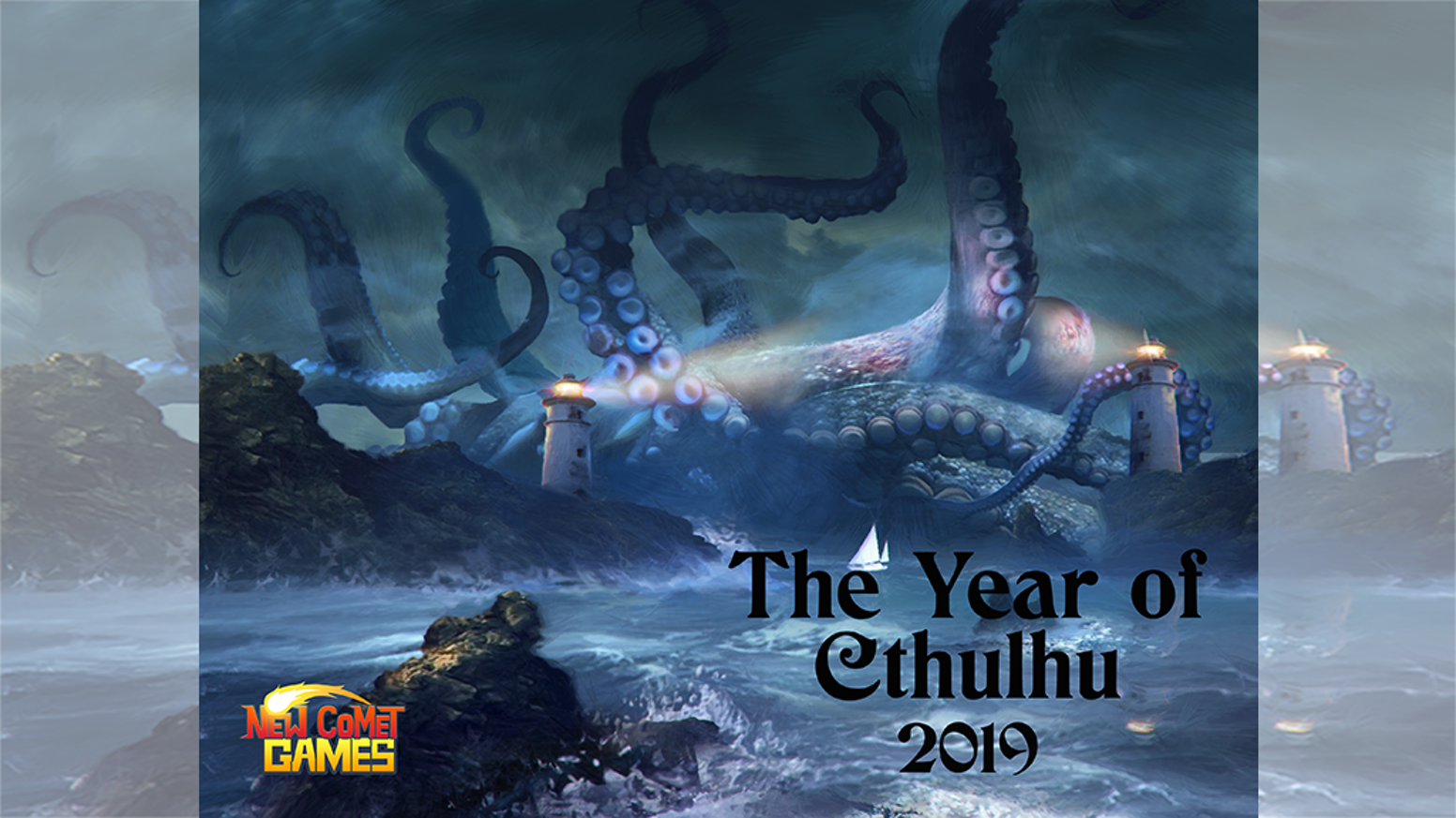 A Calendar featuring Cthulhu and other mythos strangeness, featuring the art work of Evgeni Maloshenkov. 12 Fantastic images for 2019.