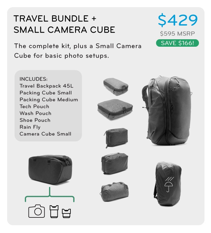 3af7cb87d6 The Travel Line  Versatile Travel Backpack + Packing Tools by Peak ...