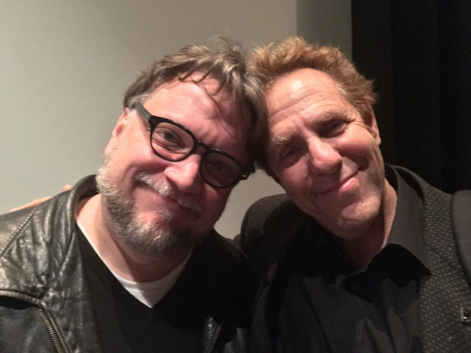 Marc Zicree and iconic writer/director, Guillermo del Toro