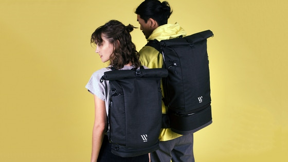 cd8c735197e0 Track The WAYKS ONE  A sustainable   transformable Travel Backpack s ...
