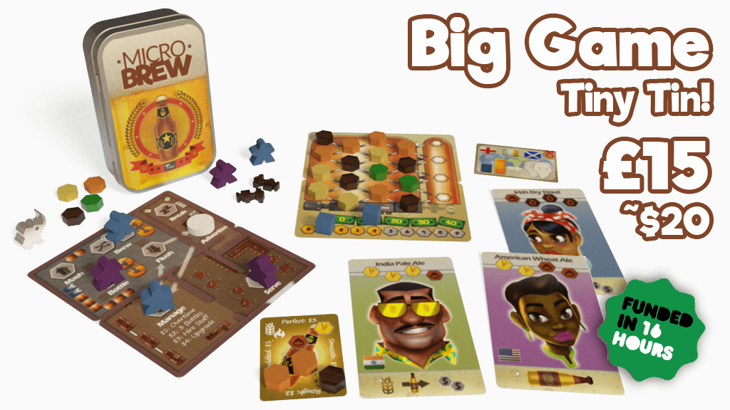 Microbrew: a full-sized board game in a tiny tin