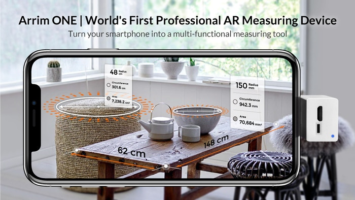 Transform your smartphone into a professional AR multi-functional measuring and leveling device.