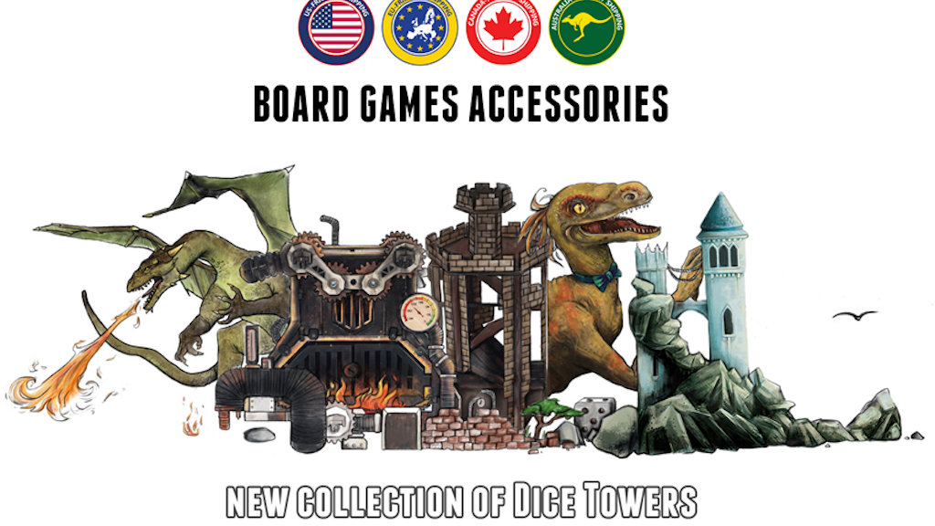 New Dice Towers 2019 project video thumbnail