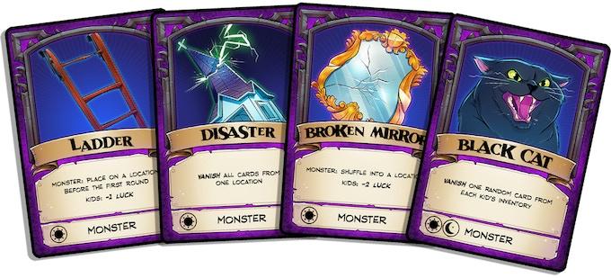 The Monster's stash of bad luck.