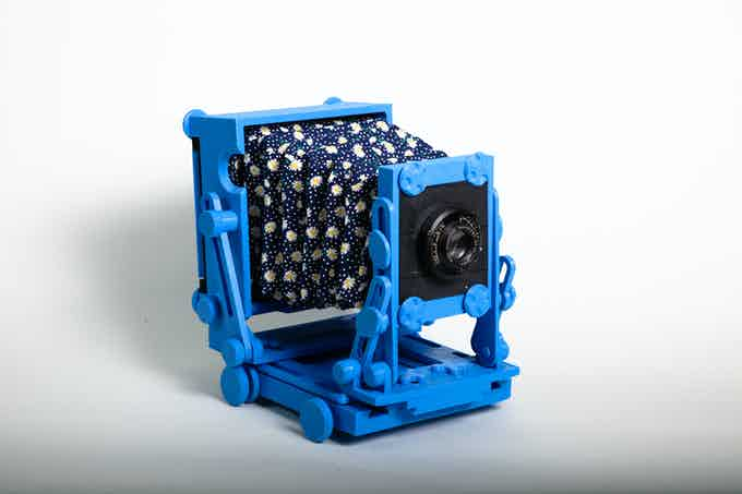 We can make solid color cameras too!