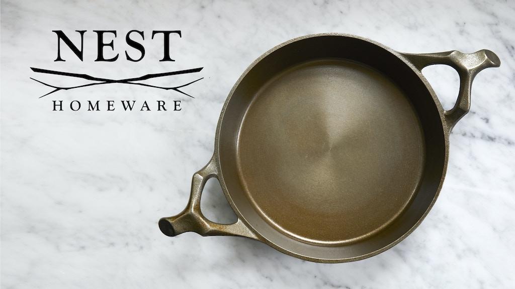 "Nest Homeware Cast Iron 12"" Braising Pan project video thumbnail"