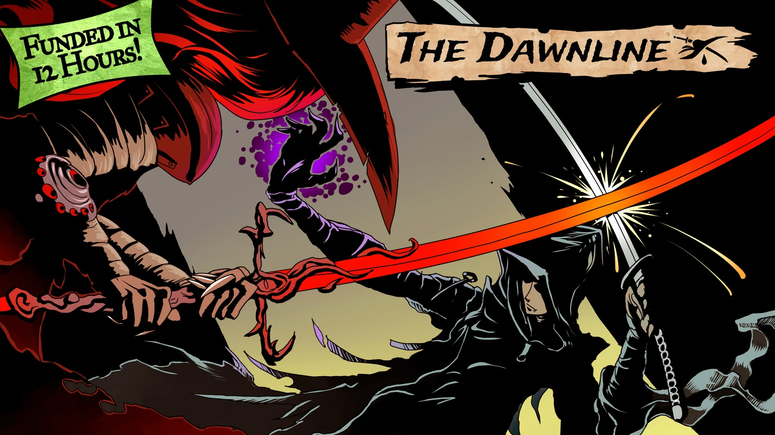 The Dawnline is a game about vampires and the villages they protect, set in a world where the light is a place that chases you.