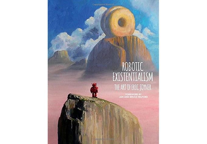 """Robotic Existentialism"" hardcover art book"