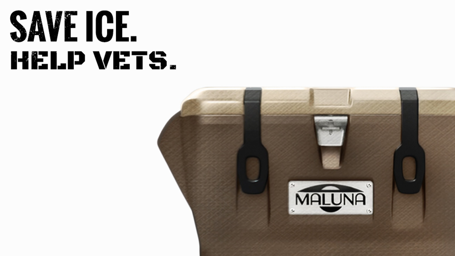 The Maluna Combat 22 holds ice 23% longer and creates coolers for veterans so they can connect with the outdoors and with each other.