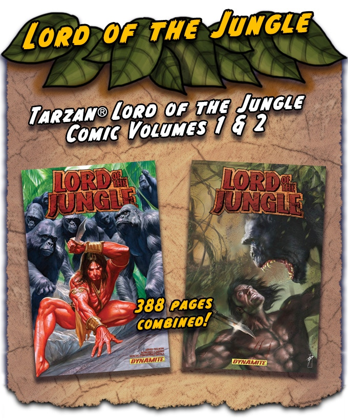 Included in the Lord of the Jungle pledge!