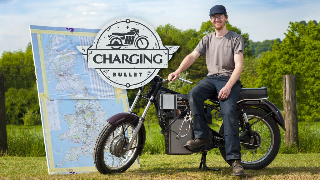 Charging Bullet: One Man & his Electric Motorbike by Finn