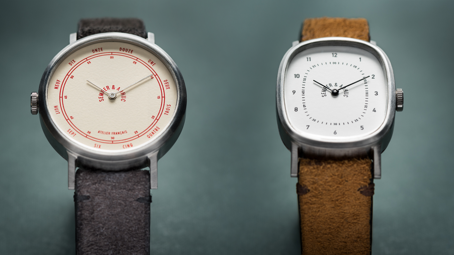 Semper & Adhuc restores vintage hand-wound movements and offers them a new skin, thus creating watches unique of their kind.