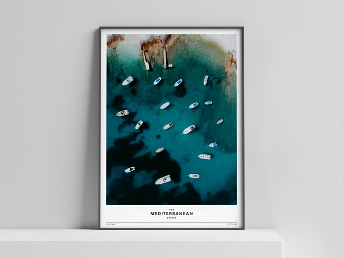Limited Edition Poster »The Mediterranean Series« 50x70 cm, 50 Euro