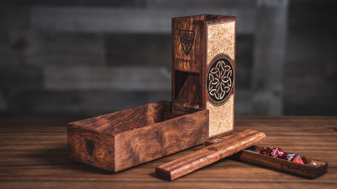 The Wyrmwood Magnetic Dice Tower System Bespoke Edition by Wyrmwood