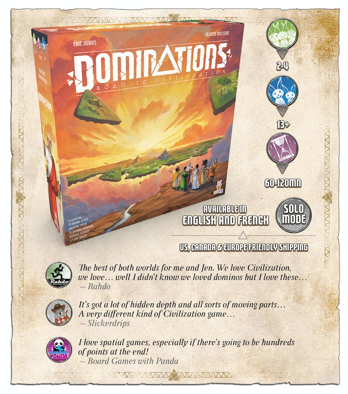 Dominations - Road to Civilization by Holy Grail Games