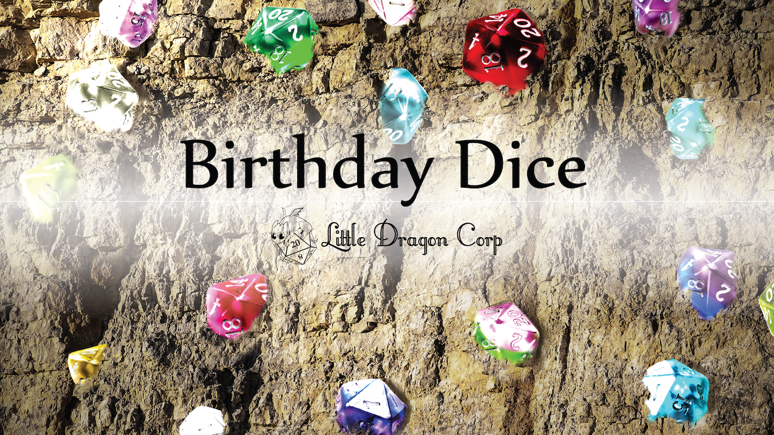 Birthday gemstone dice by colette chappell kickstarter birthday gemstone dice layered polyhedral dice for board games rpg campaigns izmirmasajfo