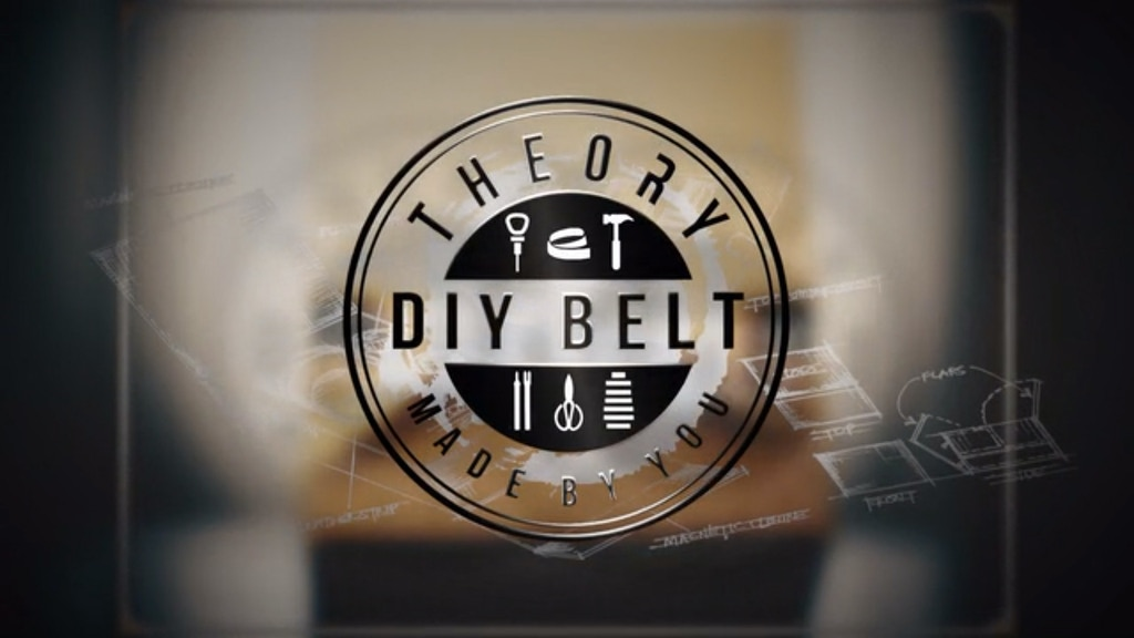 The Perfect Belt, Made by You - Theory DIY Belt