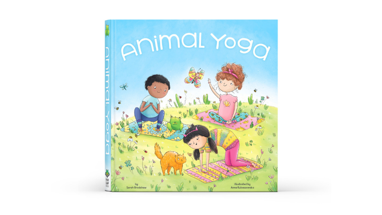 Animal Yoga By Four Leaf Books Over 100 Funded In The First Day