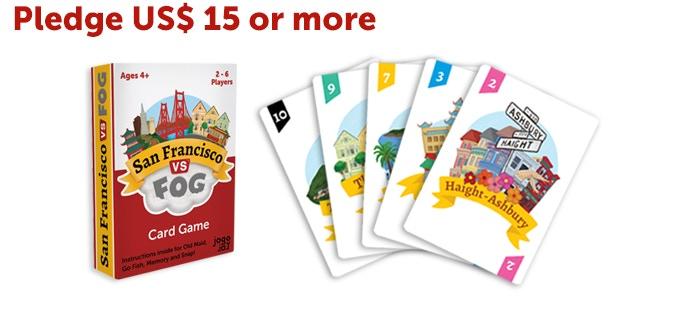 One San Francisco VS Fog Card Game