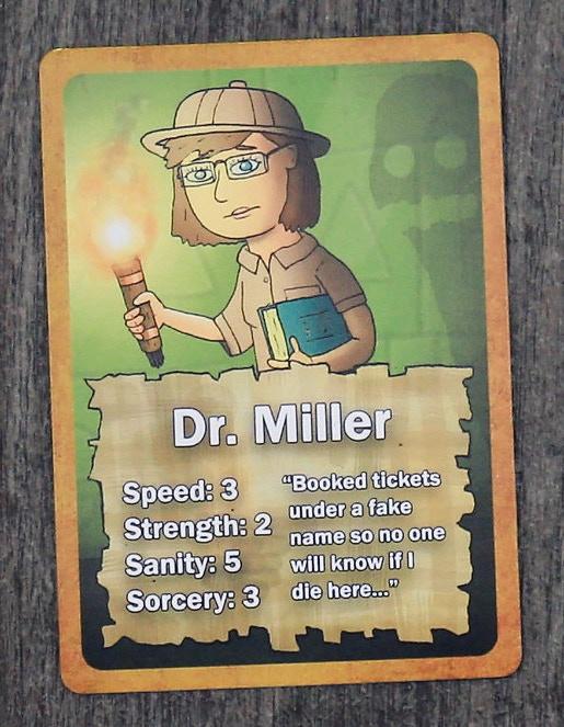 Dr. Miller!