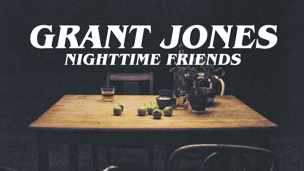 "Grant Jones' debut album ""Nighttime Friends"" project video thumbnail"