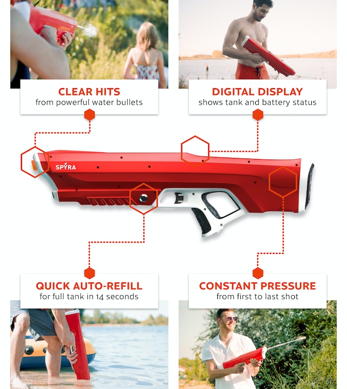 Spyra One: The next generation of water guns  by Spyra