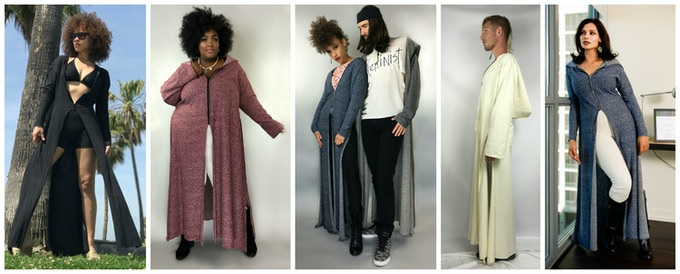 Hemp Duster in many colors and sizes