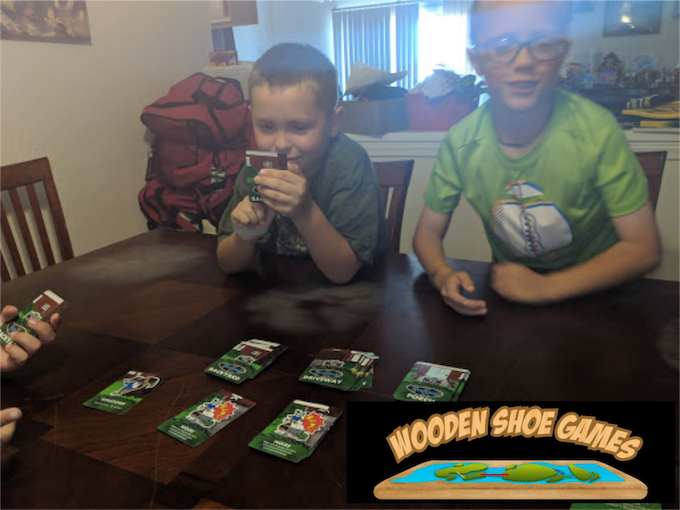 """I liked that some cards made you end your turn and other cards could make you end your turn and discard the cards you had picked up.  I liked this game a lot, I'd pull it out of the garbage!"""