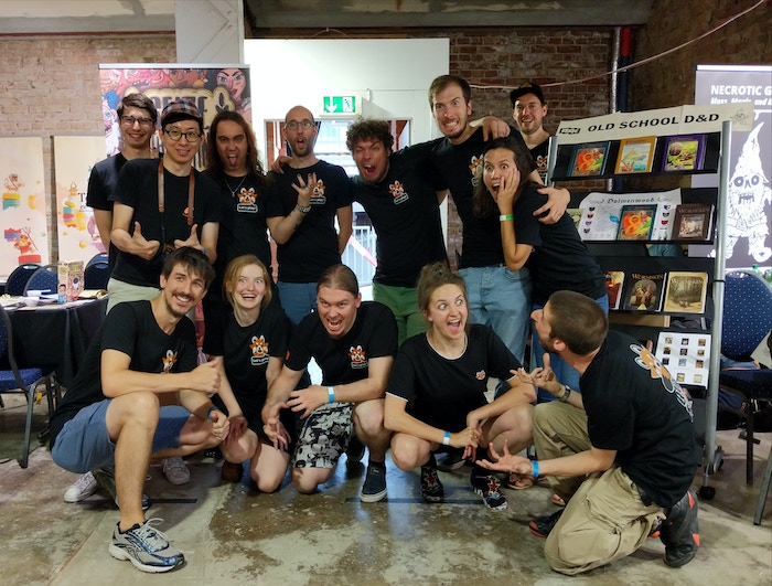 Huge thanks to our amazing and energetic team for a big success at the Berlin Brettspiel Con!
