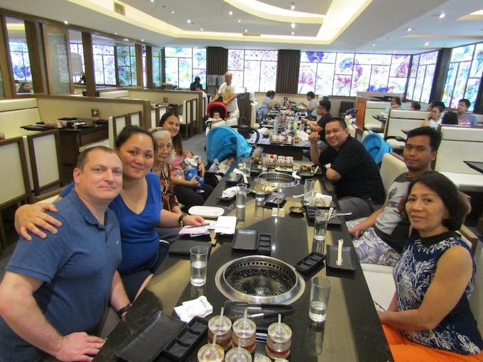 Paguio family dinner