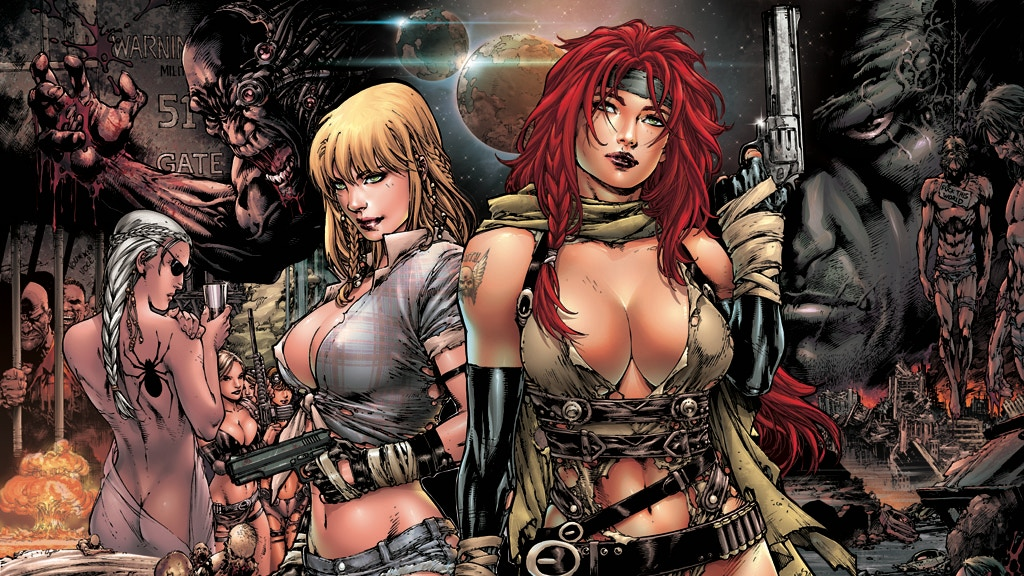 Nina and Ariel #1 - First Solo Comic Book by Ed Benes! project video thumbnail
