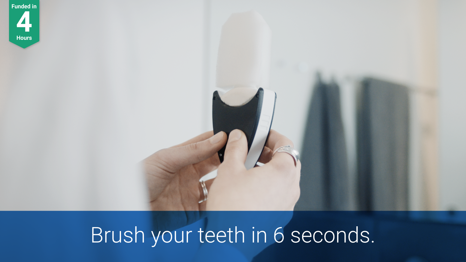 UNOBRUSH™ is the world's smartest toothbrush that delivers a refreshing clean to your mouth in just 6 seconds.